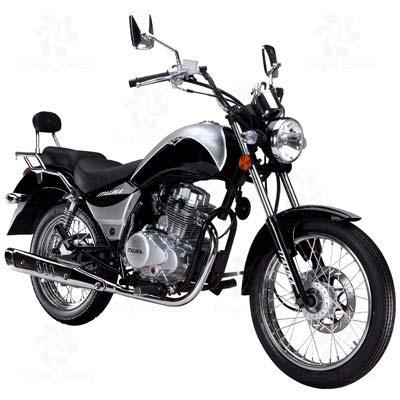 Motocicleta Chopper ITALIKA modelo RC 150 NEGRO C/PLATA