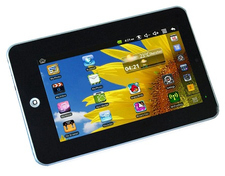 EPAD - Android 2.2 tableta con pantalla táctil de 7 pulgadas