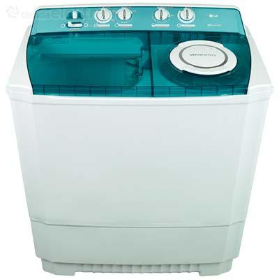 Lavadora de 2 tinas 12 kilos LG  WP1500/1560 RS
