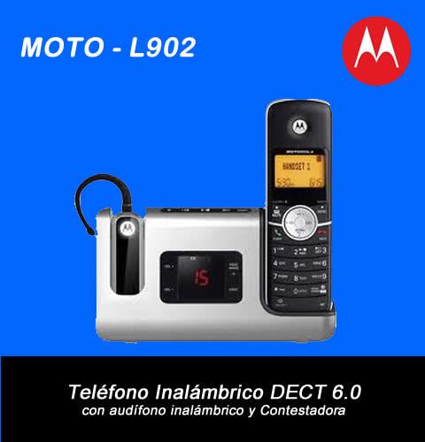 Teléfono Inalámbrico Dect 6.0 Motorola Vjr