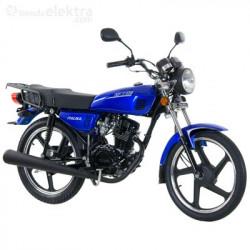 Motocicleta de trabajo marca ITALIKA modelo XFT 125 AZUL